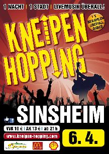 Poster: Kneipenhopping Sinsheim