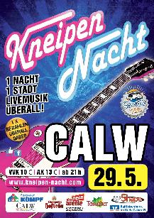 Poster: Kneipennacht Calw