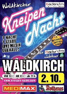 Poster: Kneipennacht Waldkirch