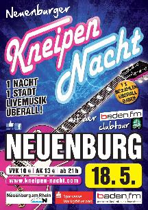 Poster: Kneipennacht Neuenburg