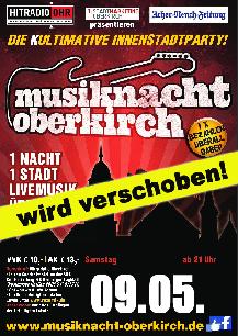 Poster: Musiknacht Oberkirch